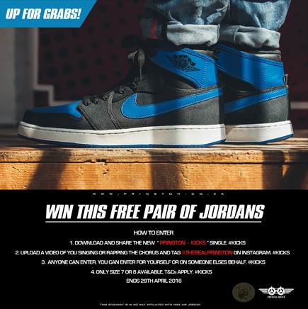 Free Jays - Prinston Kicks